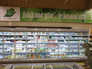Das neue Kühlregal im Lammertzhof Hofmarkt