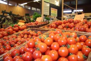 Tomaten im Lammertzhof-Hofmarkt