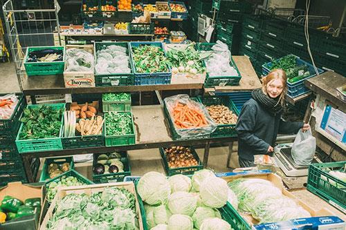 Gemüse-Packstelle (Foto: Hojabr Riahi)