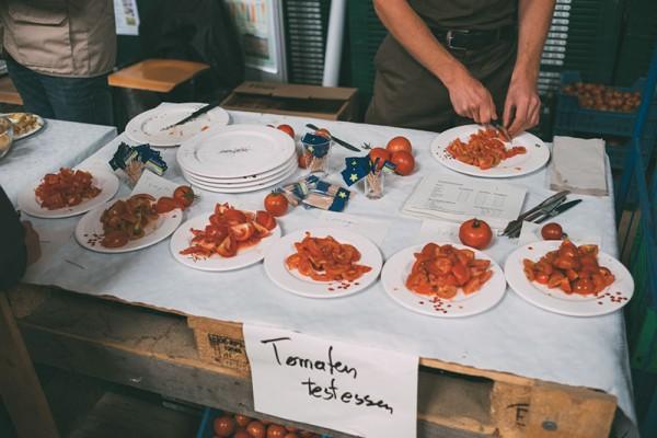 Tomaten Testessen Lammertzhof