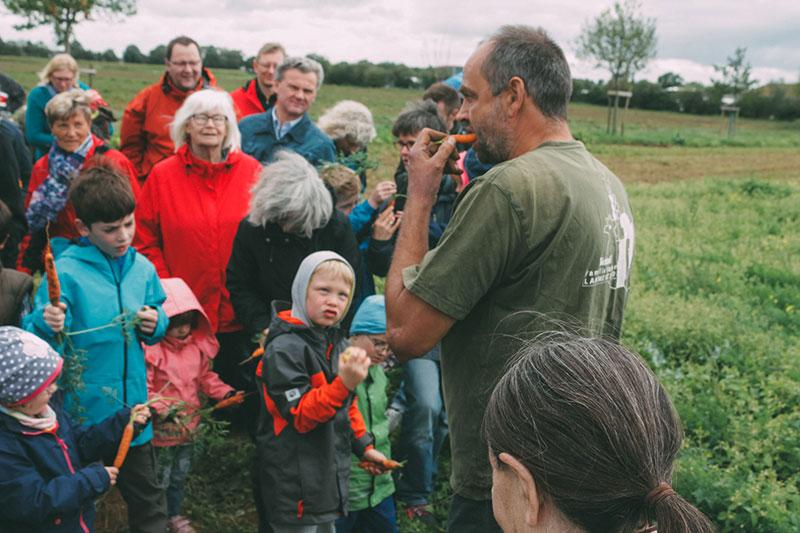 Lammertzhof Hoffest 2015 Führung Probieren