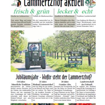 Lammertzhof Aktuell - Unsere Zeitung zum Hofjubiläum